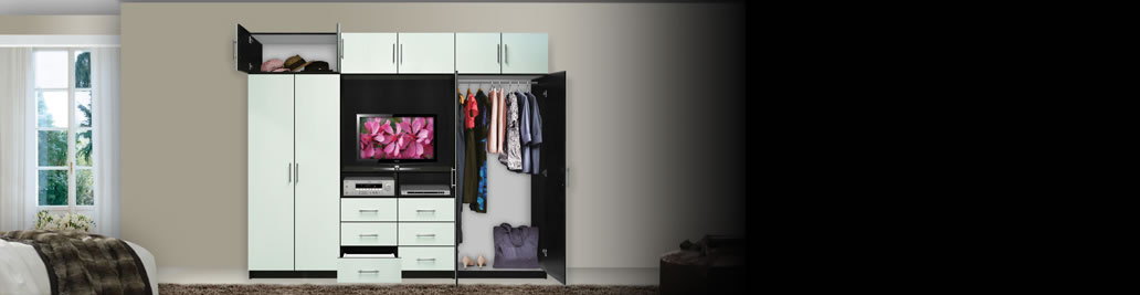 Aventa Collection Bedroom Wall Units