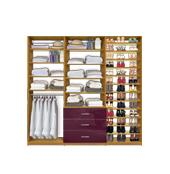 "Isa Custom Closet Systems - Triple Modules (54-108"" wide)"