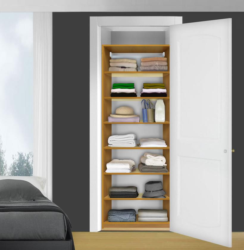 Isa Custom Closet Closet Shelves Shelving System 7