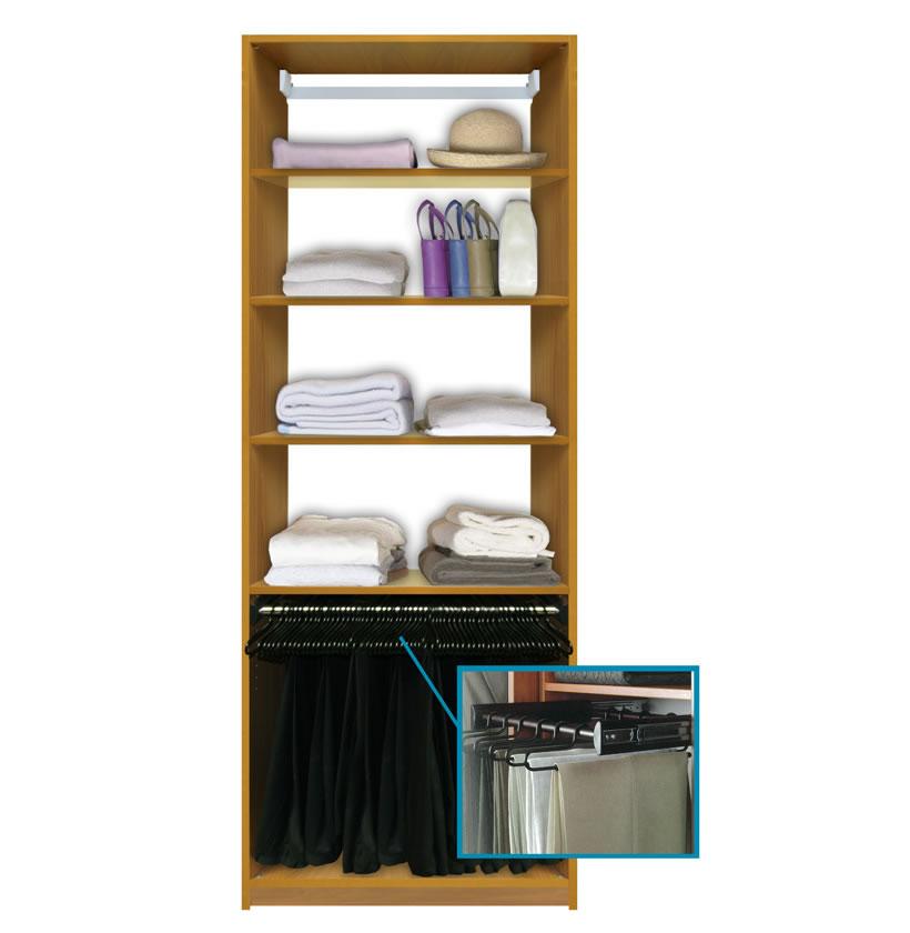 wardrobe closet wardrobe closet wall shelf with hanging rod. Black Bedroom Furniture Sets. Home Design Ideas
