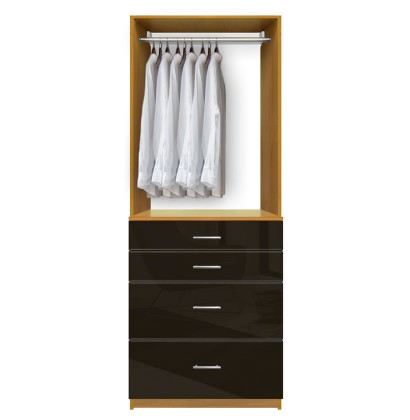 ... Closet Drawers Units : Isa Custom Closet Drawers For Small Organization  ...