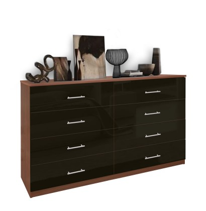 Black Dresser 8 Drawer