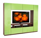 Metropolis Wall Unit - 6 Foot Wall Unit Small in Size but Big on Storage
