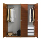 Alta Wardrobe Closet Package - 3 Drawer Wardrobe Package
