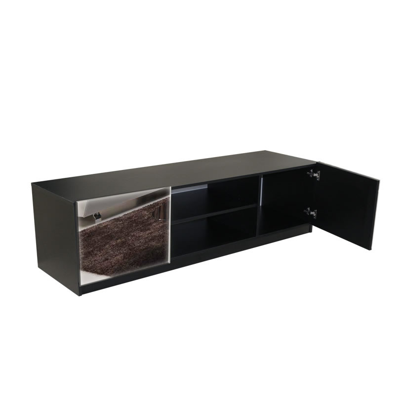 Mirrored Tv Stand Wasedajp Home Deco Inspirations