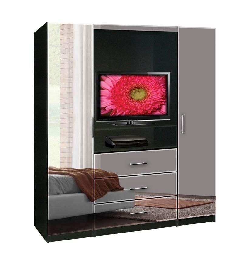 aventa tv armoire contempo space. Black Bedroom Furniture Sets. Home Design Ideas