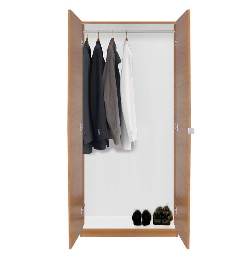 Contempo Space Alta Wardrobe Closet - Double Doors, Single Hangrod at Sears.com