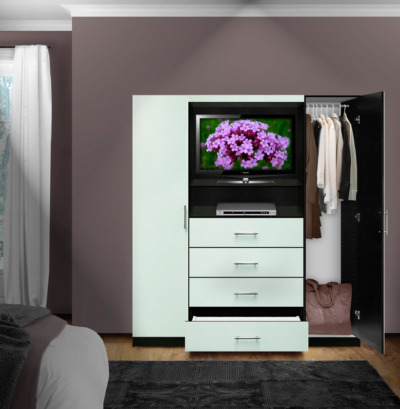 Aventa Bedroom TV Armoire