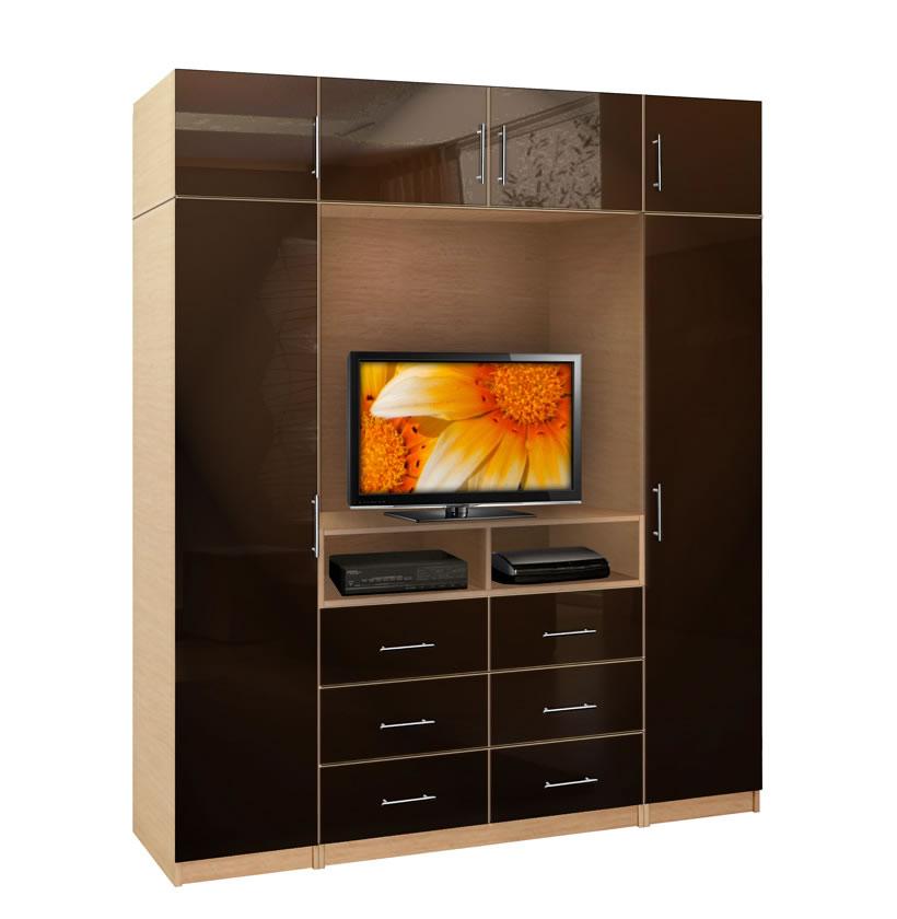 Aventa TV Wardrobe X-Tall | Contempo Space