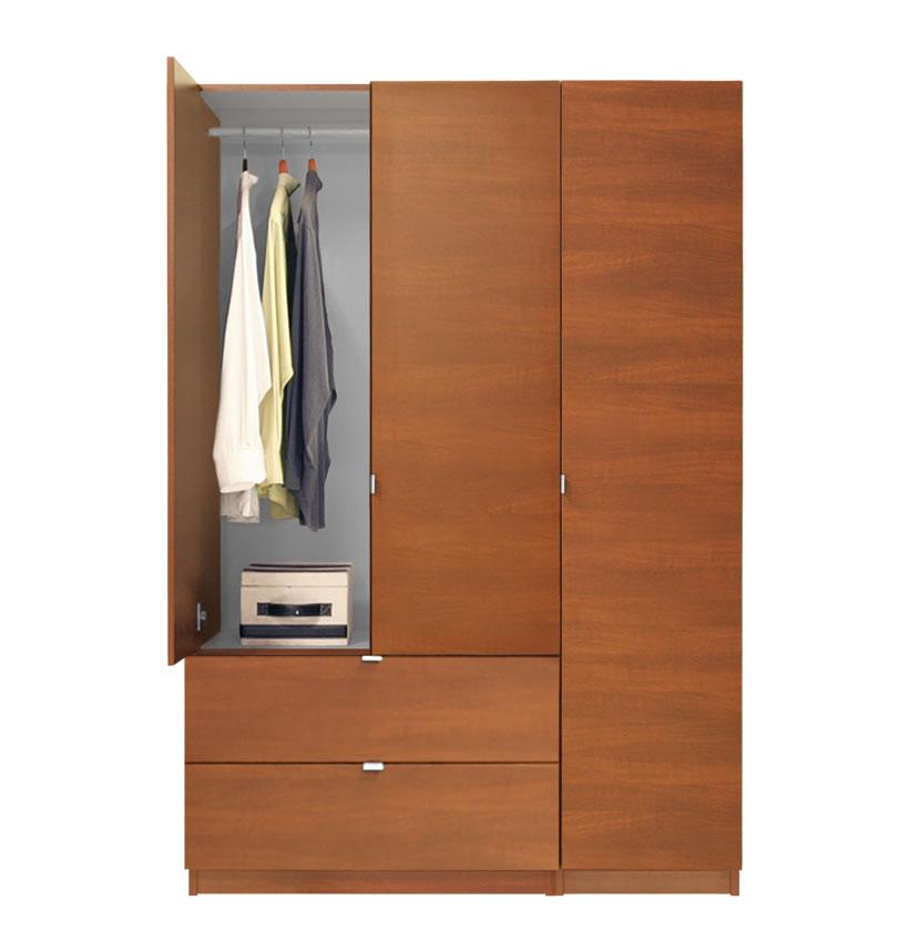 Alta Wardrobe Armoire 3 Door Armoire Right Opening