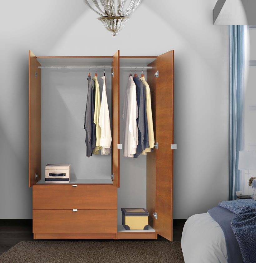 Alta wardrobe armoire door right opening