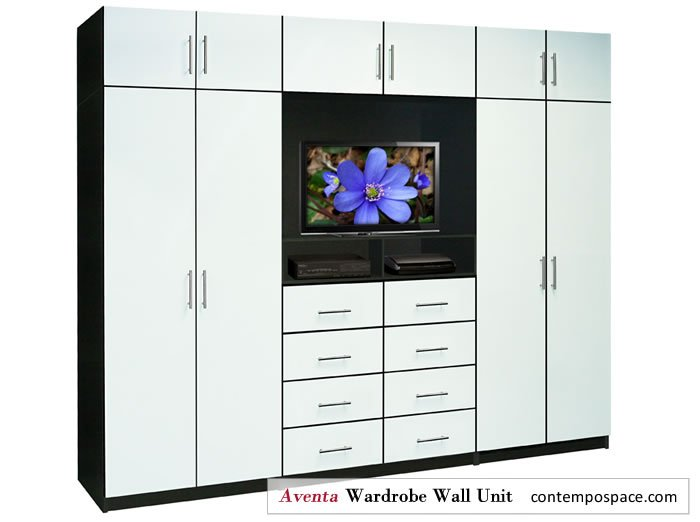 Aventa Collection New Bedroom Tv Furniture Includes Wardrobe