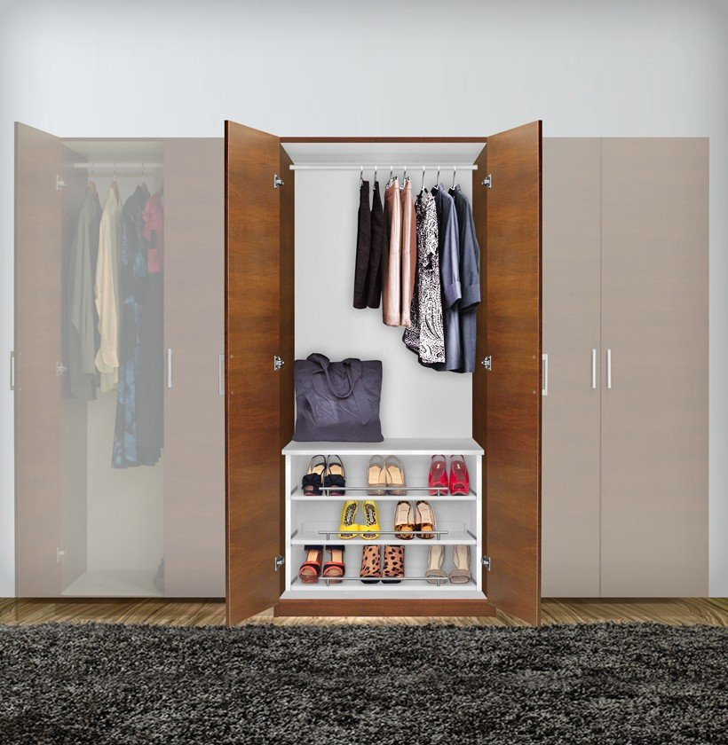 Closet Too Small A Wardrobe Cabinet May Be The Solution