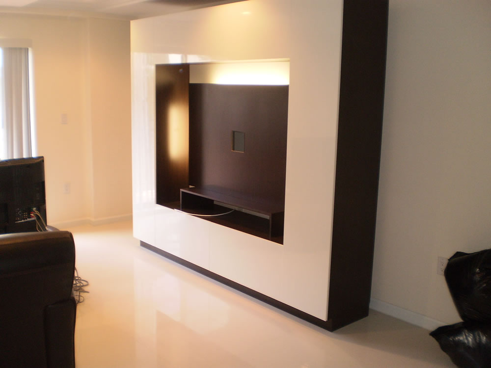 Glossy White Wenge Entertainment Center Contempo Space Blog