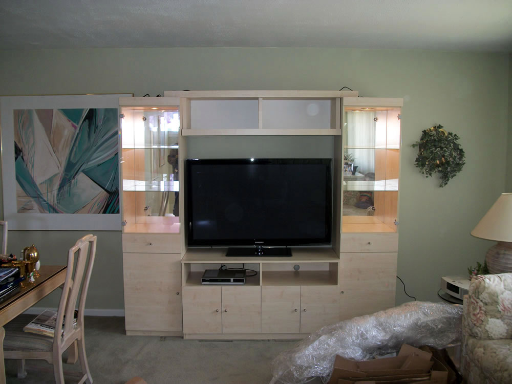 Emma Entertainment Center In Ash