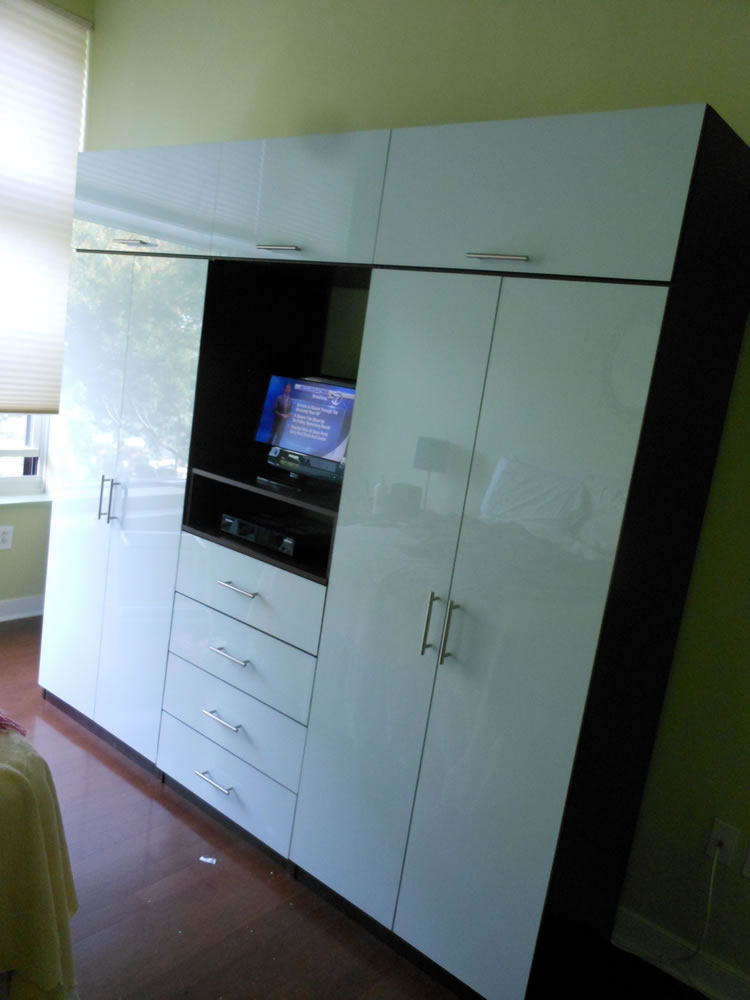 Icicle Wardrobe Tv Wall Unit For Bedroom