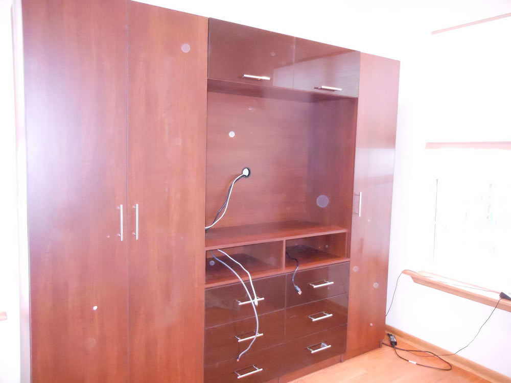 High End Custom Wardrobe With TV Space – Contempo Space Blog