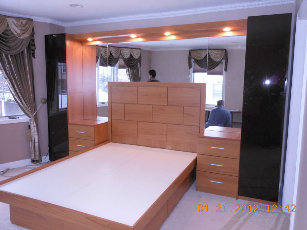 Pier Wall Bed And Nightstands In Queens Ny Contempo
