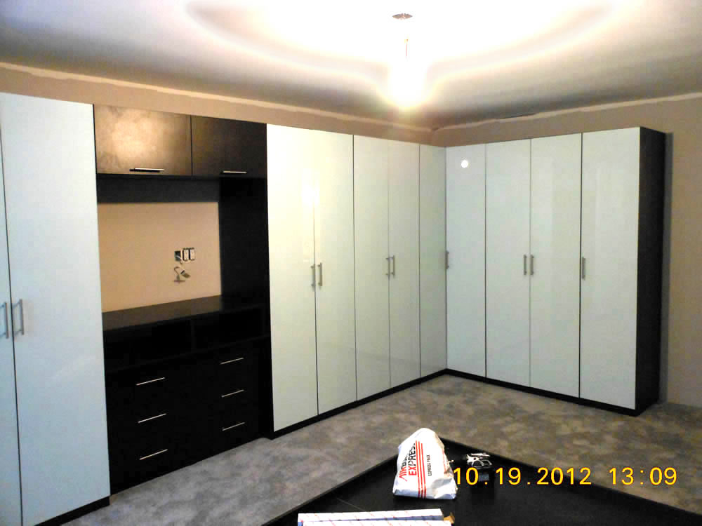 Corner Wardrobe Cabinets in White & Corner Wardrobe Cabinets in White u2013 Contempo Space Blog
