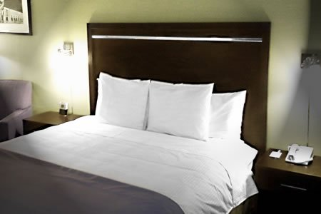 Hotel Furniture Queen Bed & Nightstands