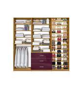 "Isa Custom Closet Systems - Triple Modules (54-108"" wide)"