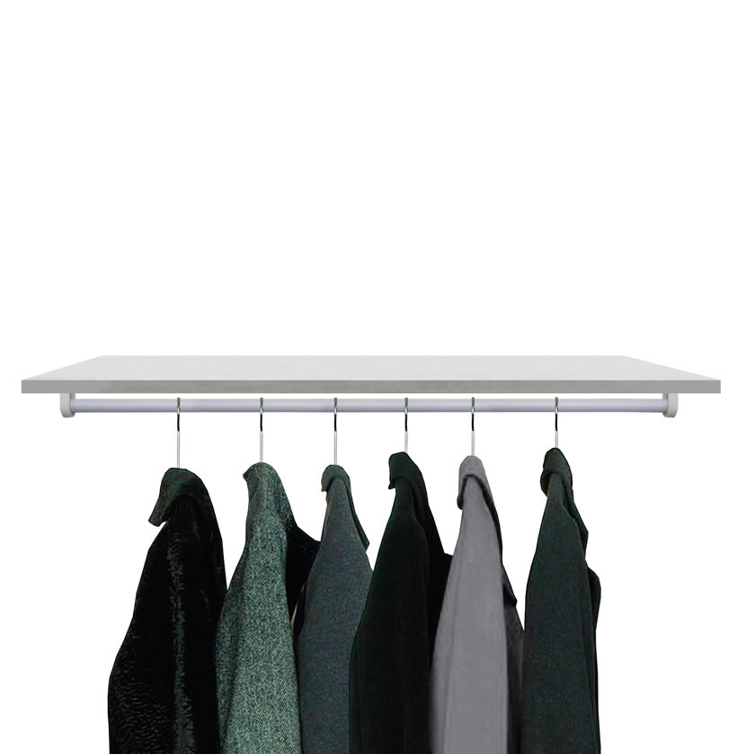 Extra Shelf And Hangrod For Alta Corner Wardrobes