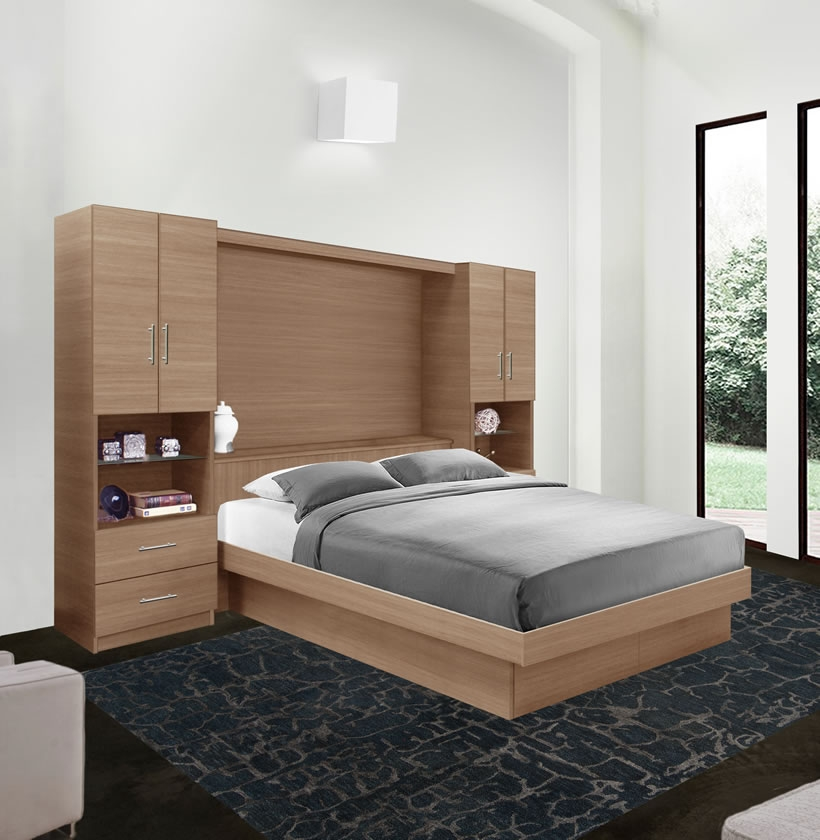 Studio Classic Pier Wall Bedroom Platform Bed Contempo Space