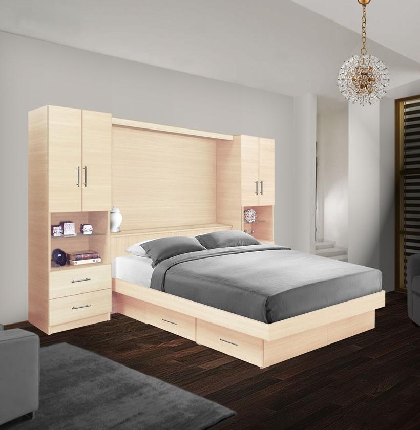 Studio Classic Pier Wall Storage Bedroom W Under Bed