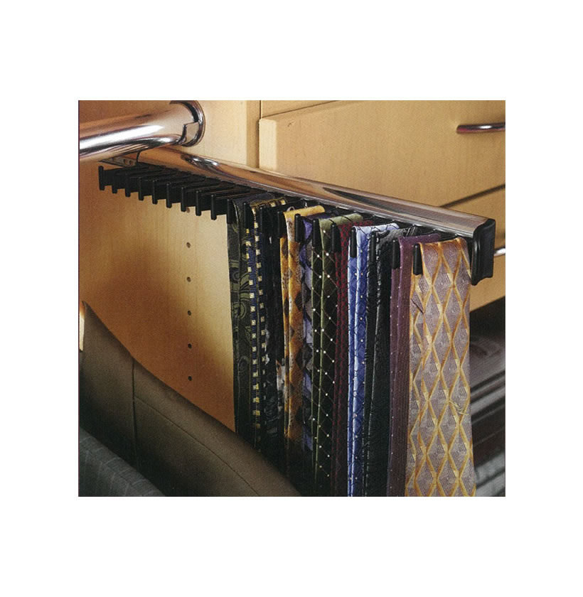 tie rack 20 hooks contempo space. Black Bedroom Furniture Sets. Home Design Ideas