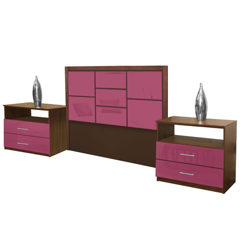 Uptown Full Size 3 Piece Bedroom Set Contempo Space
