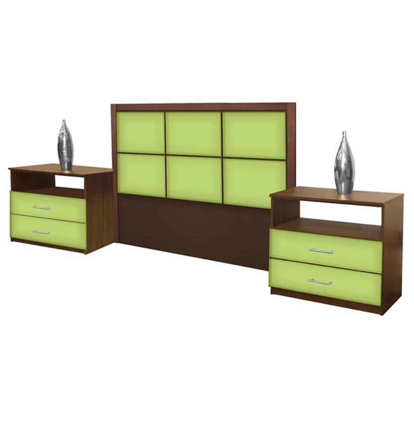 Rico queen size 3 piece bedroom set contempo space for 3 piece queen size bedroom set