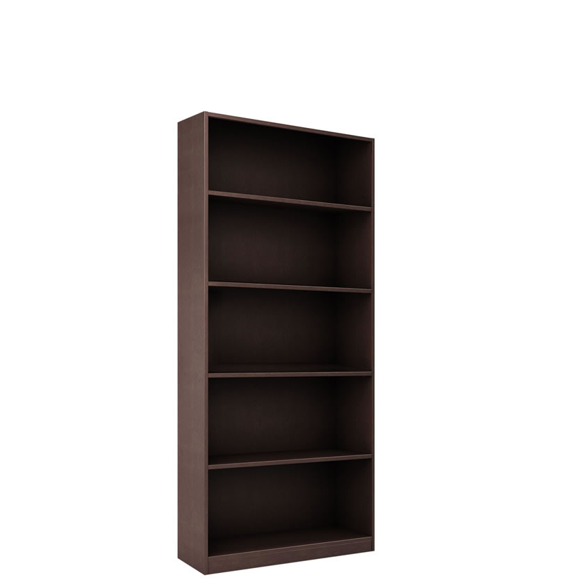 Alexis 6 Foot Bookcase With 5 Shelves