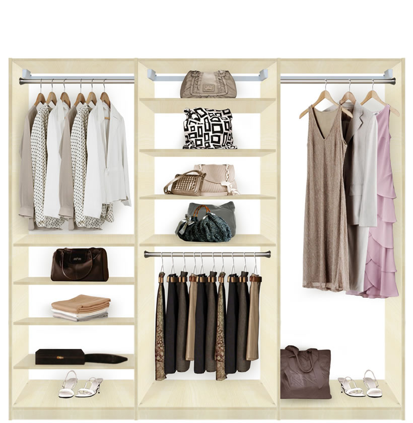 Isa Closet Systems Walk In Closet Bliss Contempo Space