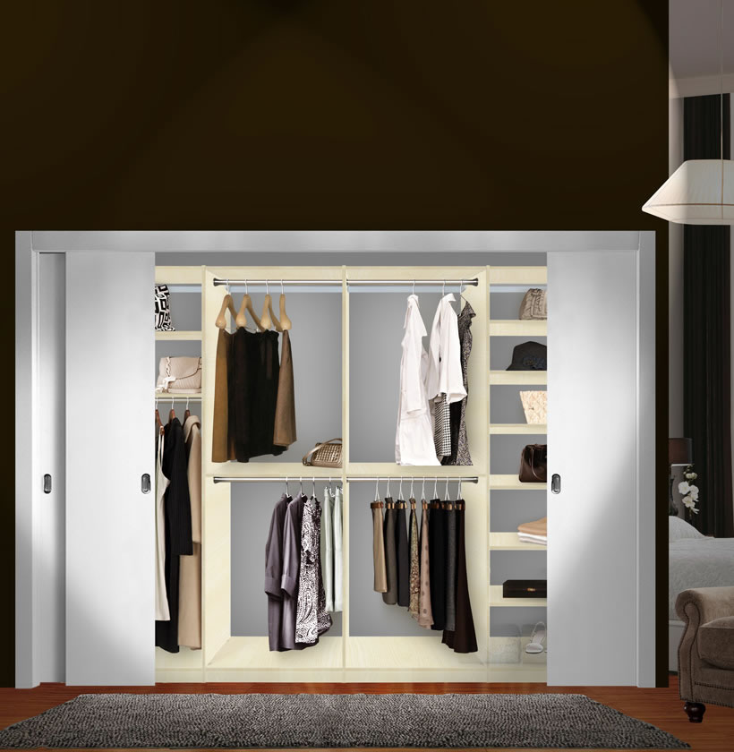 Isa Custom Closet System XL For Large Closets
