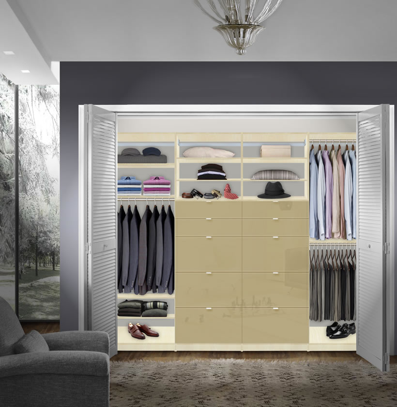 Do It Yourself Home Design: Isa Built In Closet System XL