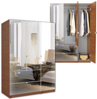 Mirrored Wardrobe Contempo E