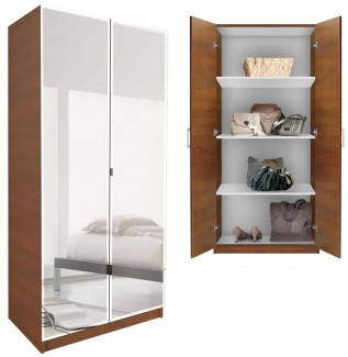 Mirrored Wardrobe Cabinet