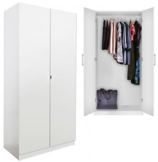 Alta Wardrobe Closet White