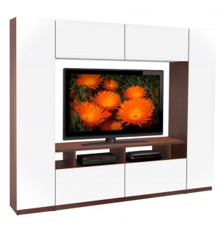 Metropolis Wall Unit White