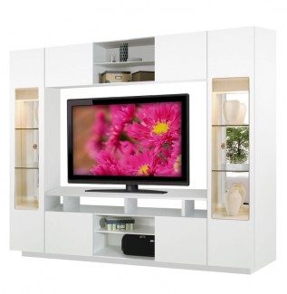 Tyler Wall Unit White