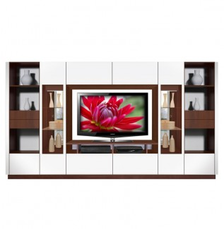 Victor Wall Unit White Gloss