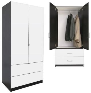White Armoire Closet 1265