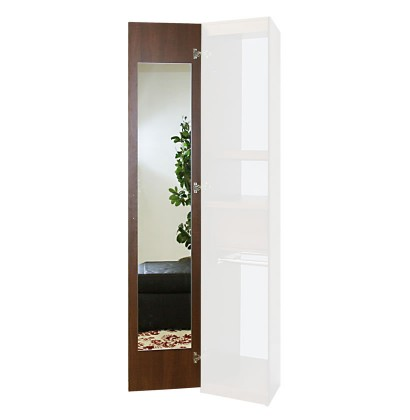 Wardrobe Closet Interior Mirror Upgrade - Single Mirror, 165 Degree Hinges