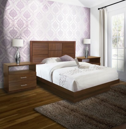 Super Uptown Queen Size Platform Bedroom Set 4 Piece Download Free Architecture Designs Pendunizatbritishbridgeorg