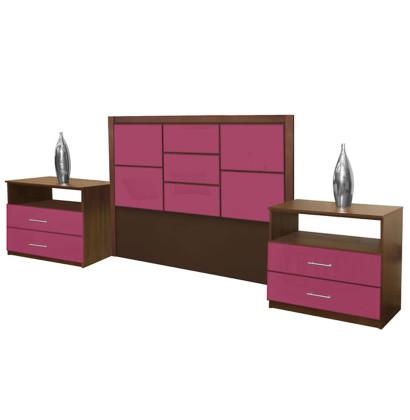 Uptown Queen Size 3 Piece Bedroom Set