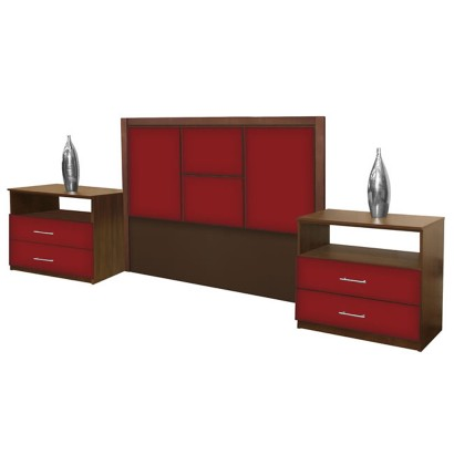 Madison queen size 3 piece bedroom set contempo space for 3 piece queen size bedroom set