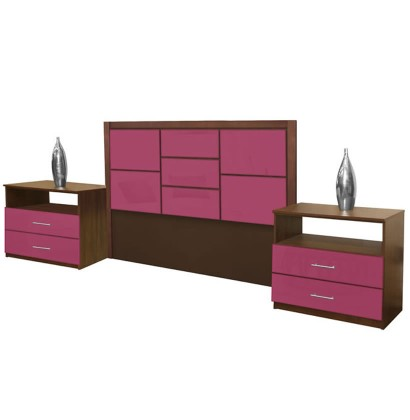 Uptown King Size 3 Piece Bedroom Set