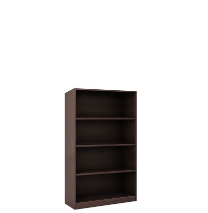 Alexis Collection 4 Shelf Bookcase 48 Inch