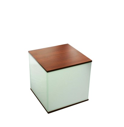 Cube Creation Modern Little Accent Table Contempo Space