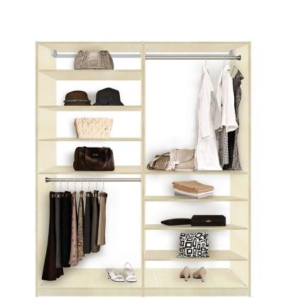 Isa closet system 8 shelves